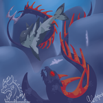 Swimming in Dangerous Waters by MysticDracomancer