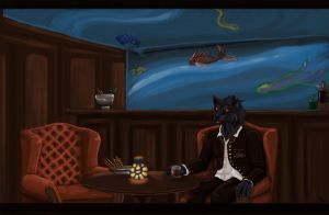 Join me for a drink? by Morisith