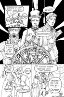The Aether Brigade in 'The Shrunken Ship' p. 2 by AethertechIndustries