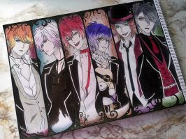 Diabolik Lovers - fanart [DONE] by yeon-rin