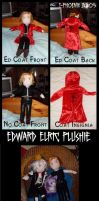 Edward Elric Plushie by Heliotrope-Housecat