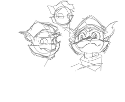 sly cooper faces by acemaster34