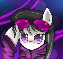 Hoodies and Glasses : Octavia by CyanAeolin