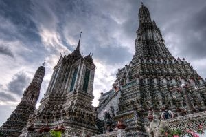 Wat Arun by SantiBilly