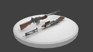 Browning Bar - 3D Weapon by longgi