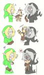 Link,dark Link And A Remlit... by darkmedolie