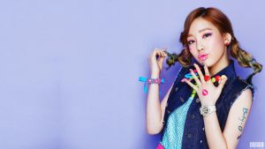 TAEYEON [KISS ME BABY-G] WALLPAPER 1920 X 1080 by ExoticGeneration21