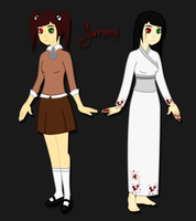 CP OC Yuremi reference by The-Screaming-Sphinx
