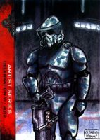 ARF Trooper sketch card 501st Legion CVI 2012 by geralddedios