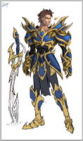 Blue Knight WIP by effektdmentality