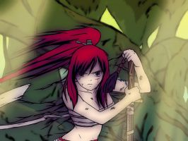 Erza -Fairy Courage by Ambience19