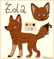 Zola ~ Refsheet 2013 by Afna2ooo