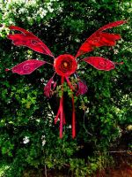 Fab Red Manga Wings by Twinkleallday