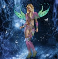 Fairy warrior by pennys-designs