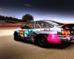 rFactor 'Toyota AE86 by m0del69
