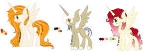 Adoptable Ponies 4! by spottie-dots