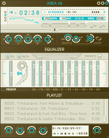 areao4.2 Winamp Skin by blueslaad