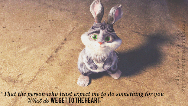 Wallpaper's ROTG Phrases 01.~ We get to the heart by Solita-San
