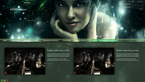 Natural Environment Website by iBrushART