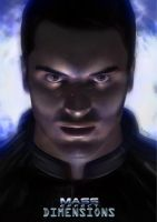 Mass Effect Dimensions - Kaidan Alenko Poster by Scrappy14