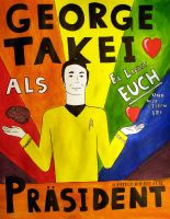 GEORGE TAKEI by BestrafexMich
