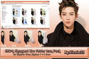 Chanyeol Live Folder Icon Pack by Rizzie23