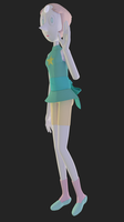 Pearl 3D Model (WORK IN PROGRESS) by revupthoselewds