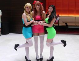 The Powerpuff Girls : Anime Midwest 2013 by The-Mario-Sisters