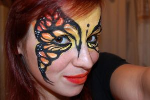 monarch facepaint by studioexperiment