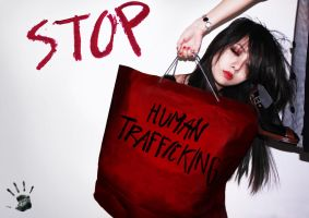 STOP HUMAN TRAFFICKING by yannieroxxx