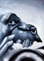 Louis Armstrong by manohead
