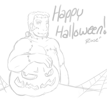 Happy Halloween by Rose-Demorus
