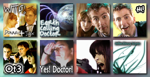 Doctor Who Journeys End Icons by 3toh