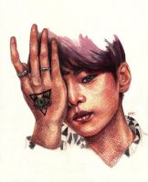 vixx hakyeon by katyafss