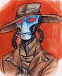 Cad Bane is NOT amused.. by PurpleRAGE9205