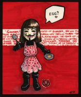 V Makes Eggs by ellensama
