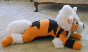 Large Arcanine Plushie by PakajunaTufty