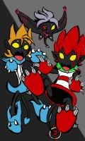 Heartless Trio by bluecrysto