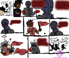 The Shenanigans of Trevor and John(The one fanboy) by terceljr