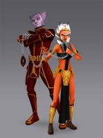 Ahsoka as Zygerrian Slave Skug (Clone Wars) by Brian-Snook