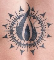 In flames tattoo by tpenttil