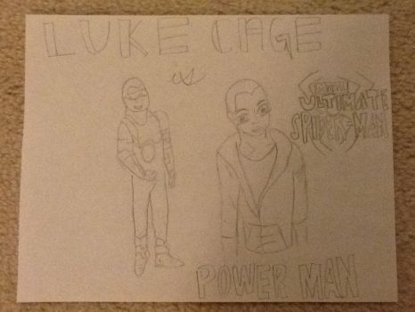 Power Man aka Luke Cage by TracyStromberg