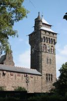 Cardiff Castle Tower by CAStock