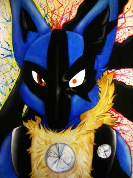 Lucario~Two sides of me by andropov97