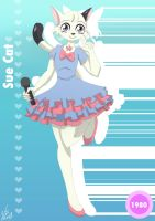 The Idols of Anime Cards: Sue Cat by starlightv