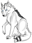 Joe Grey Aura Feral Wolf Form by JOBNED1