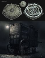 Thief - Medecine Cart and Medallion by MatLatArt