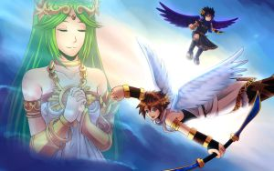 Kid Icarus: Uprising by tofuproductionz