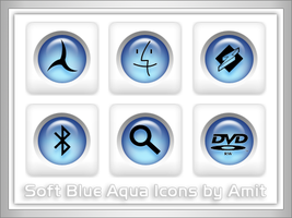 SoftBlueAqua Icons by amitsaraf32