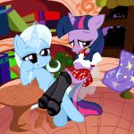 Trixie and Twilight 3 by Pyruvate